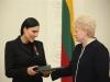 Prezidentė Dalia Grybauskaitė Valstybės (Lietuvos Karaliaus Mindaugo karūnavimo) dienos proga įteikė valstybės apdovanojimus