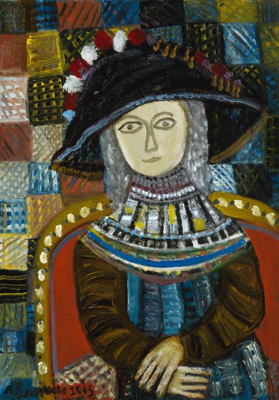 augustinas-savickas-sedinti-moteris
