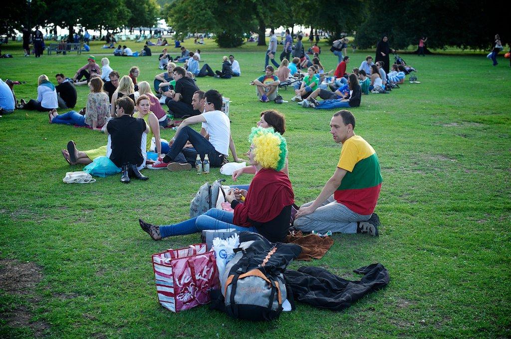 Baltijos kelio minėjimas Londone, 2011 08 21 d.
