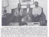 Dr. Jonas Balys su dr. Leonardu Sauka ir G. Radvilu savo namuose Silver Springe 1994 m. lapkričio 3 d. (iš: 1994-ųjų Jono Basanavičiaus premija – etnologui daktarui Jonui Baliui / Norbertas Vėlius. – Liaudies kultūra. – 1995, Nr. 2, p. 4.)
