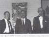 """Prof. Jonas Balys (centre) su poetu J. Aisčiu ir rašytoju A. Vaičiulaičiu (iš: Amerikos lietuvių kultūros archyvas (ALKA) / Algimantas Liekis. – Vilnius : [Indiv. įm. """"Lietuvos mokslas"""