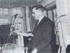 Dr. Jonas Balys sako atidarymo kalbą antrajame Lituanistikos instituto suvažiavime Filadelfijoje 1967 m. (iš: Lietuvių kalendorinės šventės / Jonas Balys. – Silver Spring (Md.) : Lietuvių tautosakos leidykla, 1978. – Įkl. VIII.)