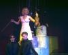 """Iš spektaklio """"Šokis su likimu"""", spektaklio atlikėjai Saulė Bartkevičiūtė, Ignas Sakalauskas, Augustas Gudelis-2400"""