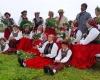 """Tarptautinis folkloro festivalis """"Baltica""""_ Uotankių folkloro ansamblis iš Latvijos"""