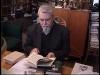 V.N.Toporovas savo darbo kambaryje, Maskvoje 2001 m. | iš A.Tarvydo filmo