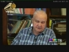 Per TV tiltą į konferencijos dalyvius kreipiasi akademiko V.N.Toporovo kolega akademikas V.Ivanovas