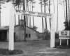 Baltų stovyklos vartai Rotenburge. 1947 m. (B. Aušroto nuotr., LNM)