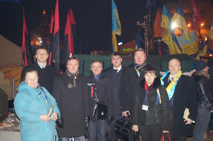 Tautininkai Kijevo Maidane