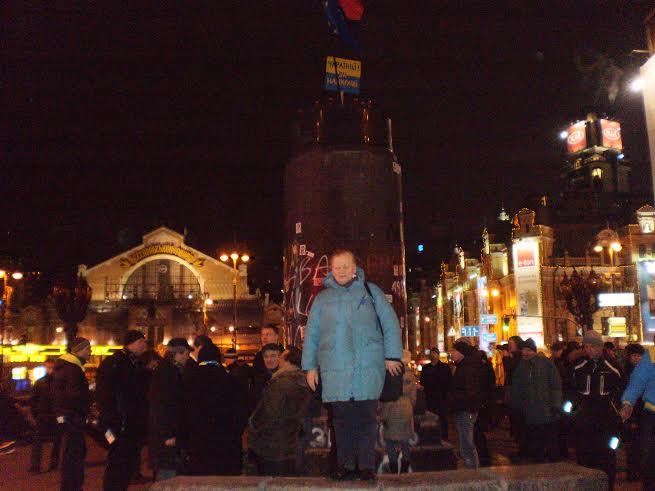 Prie nuversto Lenino paminklo