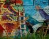 2.3. Sienų tapybos kūrino fragmentas. Meninikas Davis Vaivads. Evelinos Bernatonytės nuotr-2400