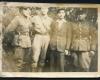 1947 m. Vytauto apygardos Lokio rinktinės partizanai (iš kairės) Edvardas Vaičėnas, neatpažintas, Andrius Dručkus, Vytautas Dručkus_1_019-2400