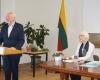Kraštotyros draugijos signatarai L.Klimka ir I.Seliukaitė