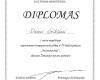 I vietos diplomas Daivai Grikšienei