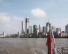 """""""Canary Wharf"""" rajonas iš laivo"""