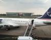 Embraer - 190 pasiruošęs skrydžiui