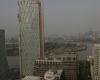 """Panorama iš """"Canary Wharf"""" dangoraižio"""