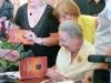 """Jūratės Statkutės de Rosales knygos """"Europos šaknys ir mes, lietuviai"""" pristatymo akimirkos."""