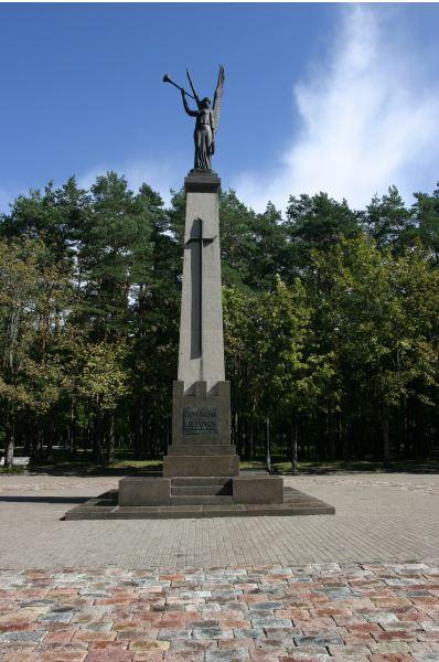 Nepriklausomybės angelo paminklas. Zitos Stankevičienės nuotr.