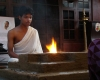 Ugnies garbinimo apeigos Kašjapos vedų mokymo centre. R. Balkutės nuotraukos.