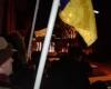 Ukrainos palaikymo akcija prie Ukrainos ambasados Vilniuje 2016 m. sausio 4 d. | Alkas.lt, T. Baranausko nuotr.