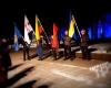 Ukrainos palaikymo akcija Kaune prie R. Kalantos paminklo 2016 m. sausio 4 d. | LTJS Kaunas nuotr.