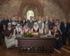 Bendra Kovo 11-ąją Trakų pilies menėje pagerbtų dalyvių ir organizatorių nuotrauka._DSC1944-2400