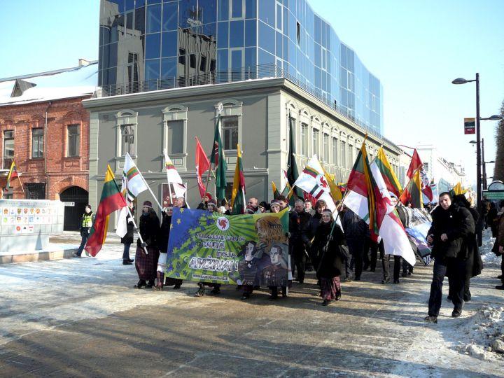 Patriotinės Vasario 16-osios eitynės Kaune