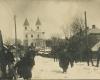 Moletu pagrindineje gatveje Nuotrauka is Kazimiero Tucinsko asmeninio archyvo