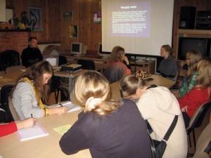 Etnografų mokyklos I-oji sesija