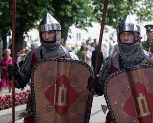 Garbės sargybos kuopos kariai | kam.lt, A. Pliadžio nuotr.