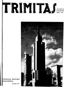 """Žurnalas """"Trimitas"""", 1937 m."""