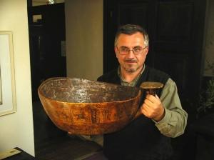 Jonas Vaiškūnas su zodiakiniu kaušu