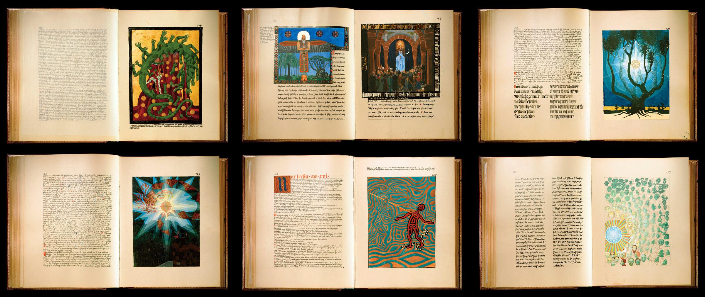 "C.G.Jungo ""Raudonoji knyga"""
