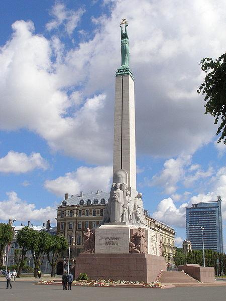 Laisvės paminklas Rygoje, wikipedia.org nuotr.