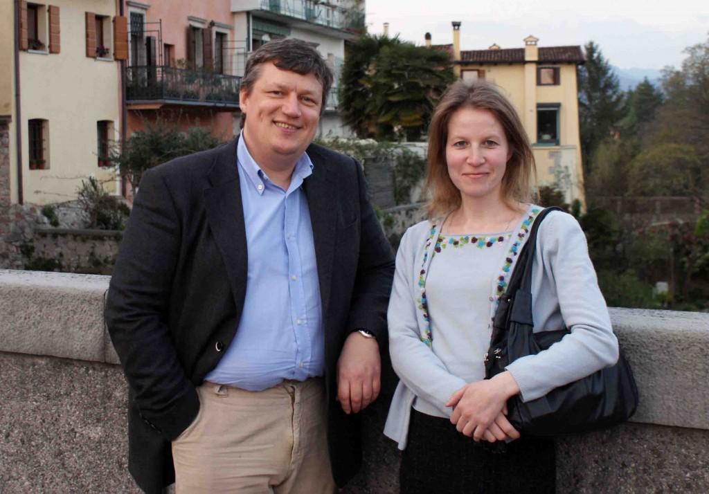 Mokytojas ir mokinė: prof. dr. N.Michailovas ir dr. M.Zavjalova