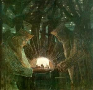 M.K.Čiurlionis. Karaliai. Pasaka. 1909.