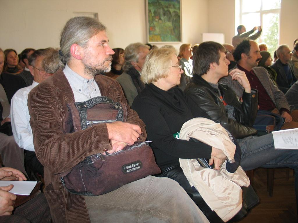 dr. Dainius Razauskas konferencijoje |  J.Vaiškūno nuotr.
