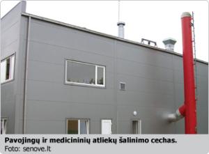 """UAB """"Senovė"""" pavojingų ir medicininių atliekų šalinimo cechas"""
