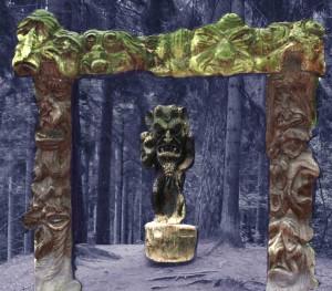 Velnio vartai. Juodkrantė, Raganų kalnas | V. Lukšo nuotr.