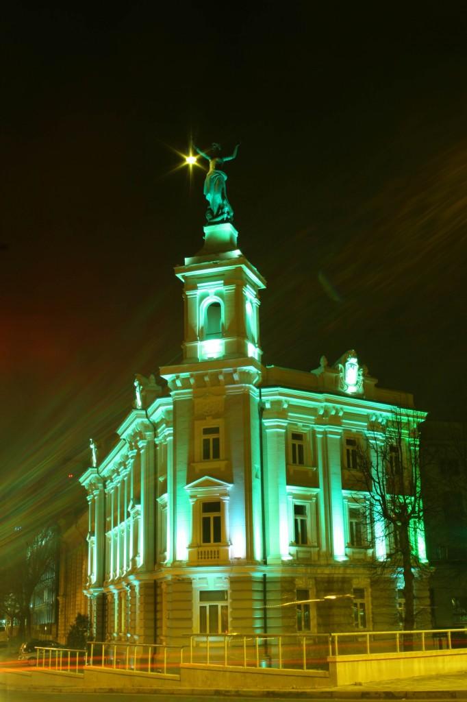 Elektros skulptūra, laikanti rankoje žibintą, daugiau nei 100 metų simbolizuoja šviesos idėją, I.Gelūno nuotr.