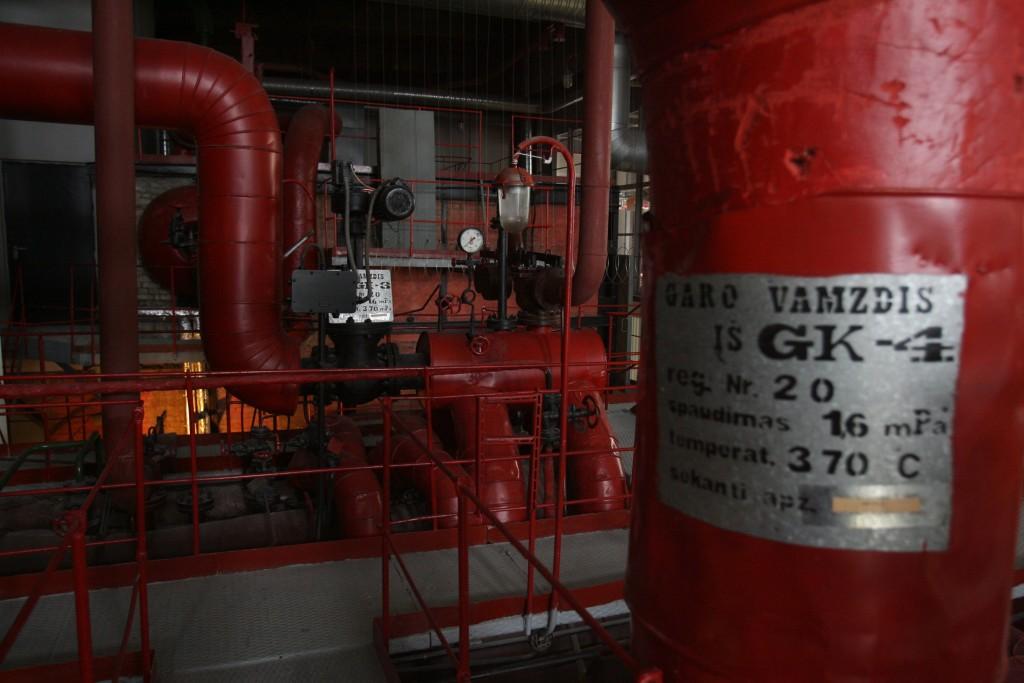Garo vamzdis primena, kad prieš kelis dešimtmečius senoji elektrinė dar dirbo, I.Gelūno nuotr.