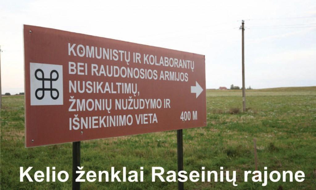 Kelio ženklai Raseinių rajone