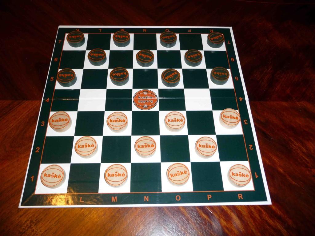 Kaškės – naujas lietuvių loginis žaidimas