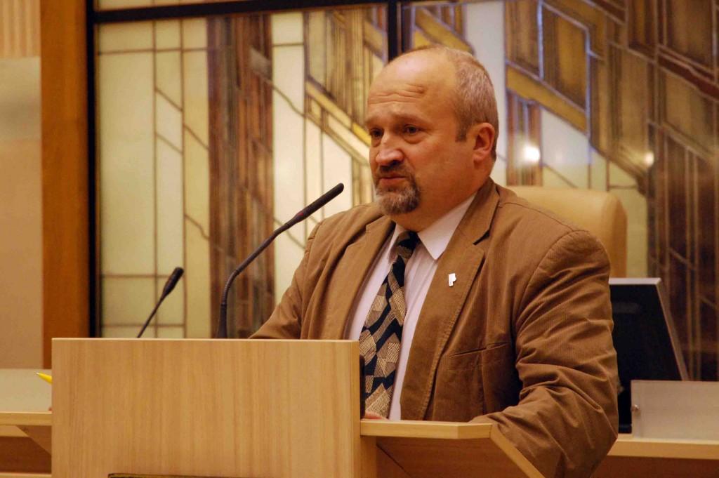 Seimo narys Gintaras Songaila kalbėjo apie naujų įstatymų projektų ir valstybės suverineto aktualijas | S.Nemeikaitės nuotr.