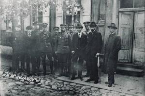 Lietuvos ir Lenkijos delegacijos derybų Kalvarijoje metu 1920 m. rugsėjo 16–18 d.