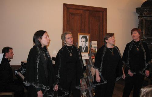 Radviliškio muzikos mokyklos mokytojų vokalinis kvartetas OPUS 10