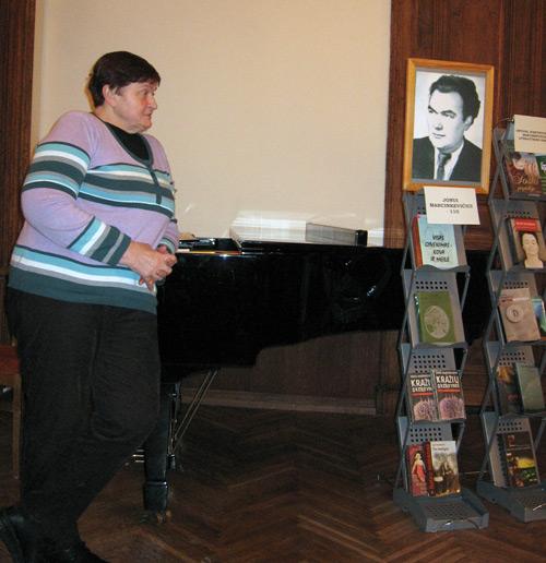 Rašytojo Jono Marcinkevičiaus 110-osios gimimo metinės