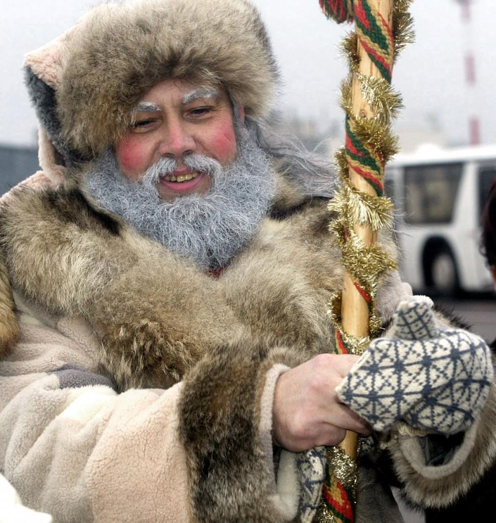 """Mūsų Kalėda. 2003 m. Nuotrauka iš VšĮ """"Kalėdų Senelio paštas"""" archyvo."""