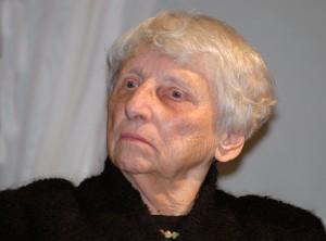 Prof. Vanda Zaborskaitė (1922 -2010), E.Tervidytes nuotr.