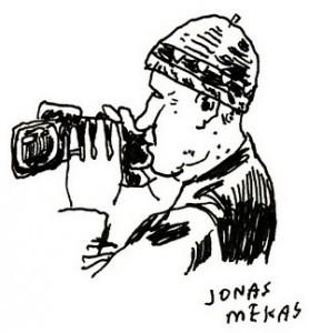 J.Mekas, 2011, J.Polano pieš.